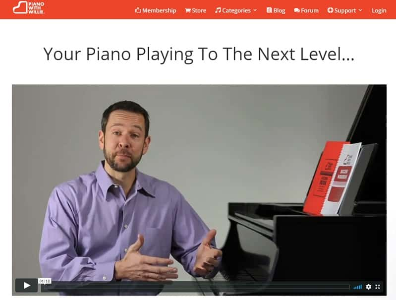 pianowithwillie learn classical piano online