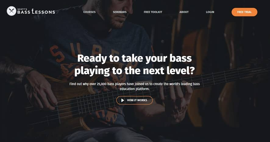 scottsbasslessons learn bass guitar online