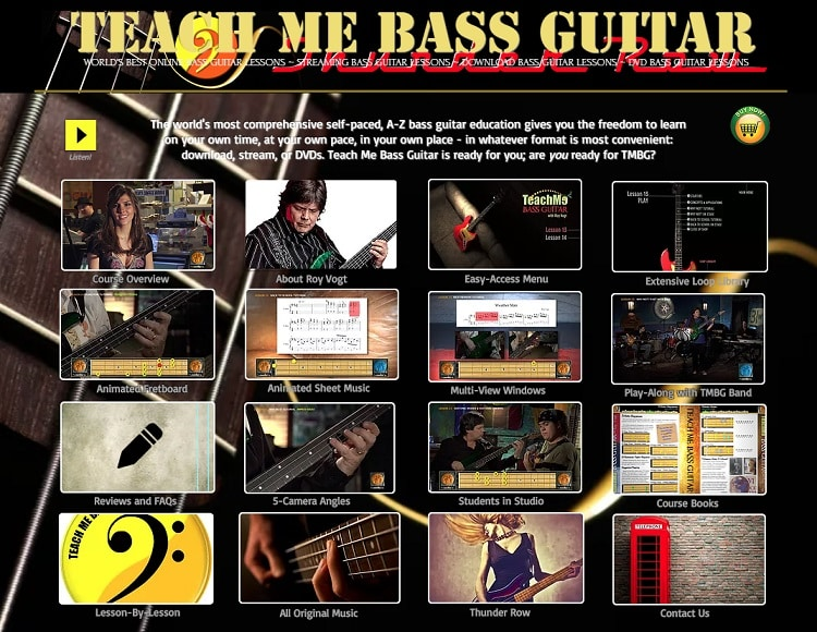 teachmebassguitar learn bass guitar online