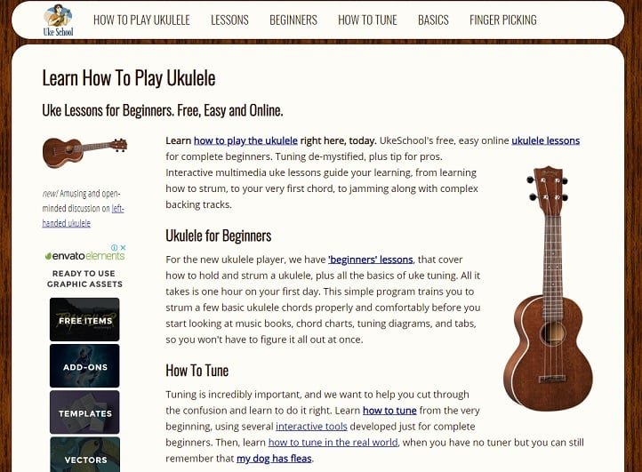 ukeschool learn ukulele online
