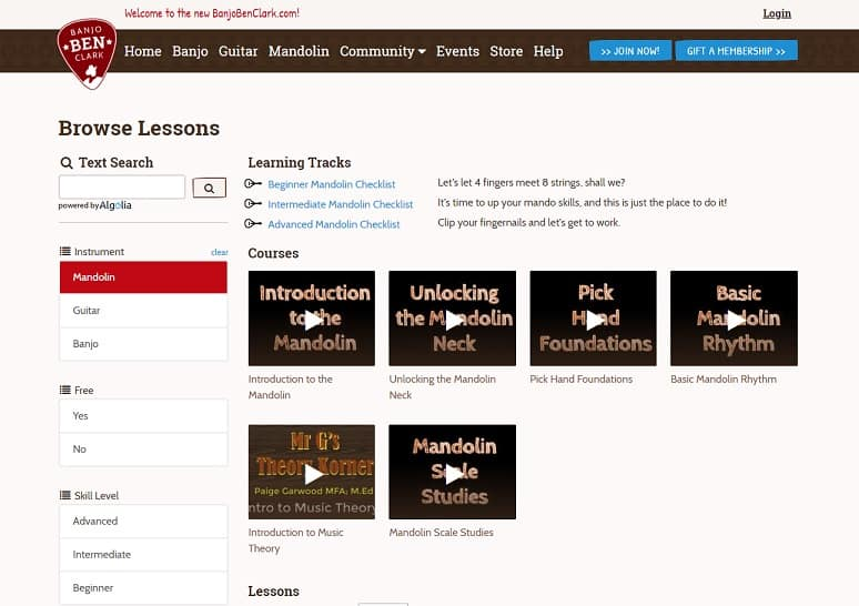 16 Websites to Learn Mandolin Lesson Online (Free and Paid Mandolin