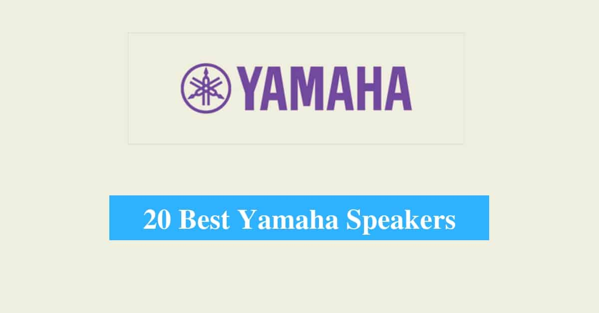 Best Yamaha Speakers