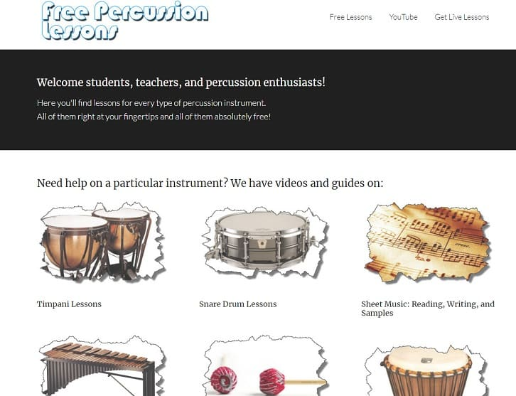 freepercussionlessons Learn Percussion Online