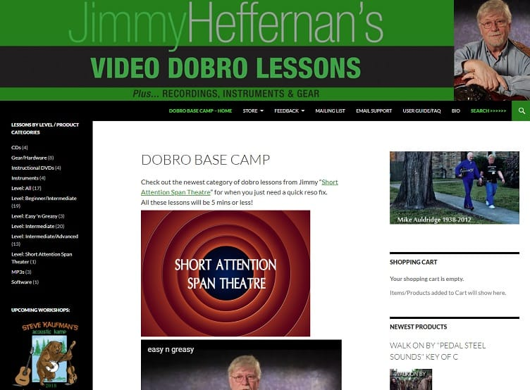 jimmyheffernan Learn Dobro Online