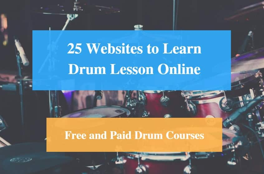 Learn Drum Lesson Online, Free and Paid Drum Courses