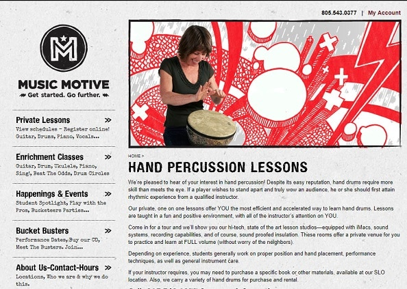 musicmotive Learn Percussion Online