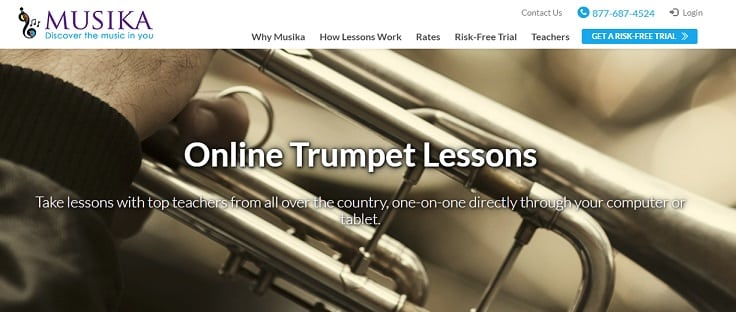 musikalessons Learn Trumpet Online