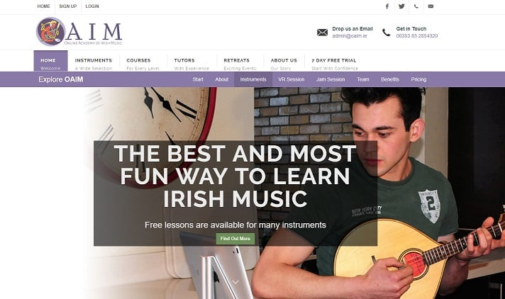 oaim Learn Mandolin Online