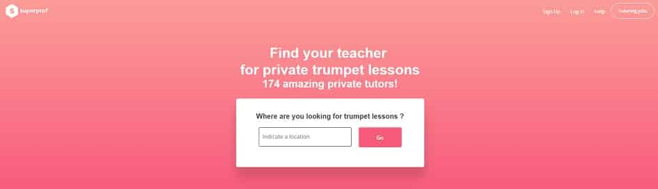 superprof Learn Trumpet Online