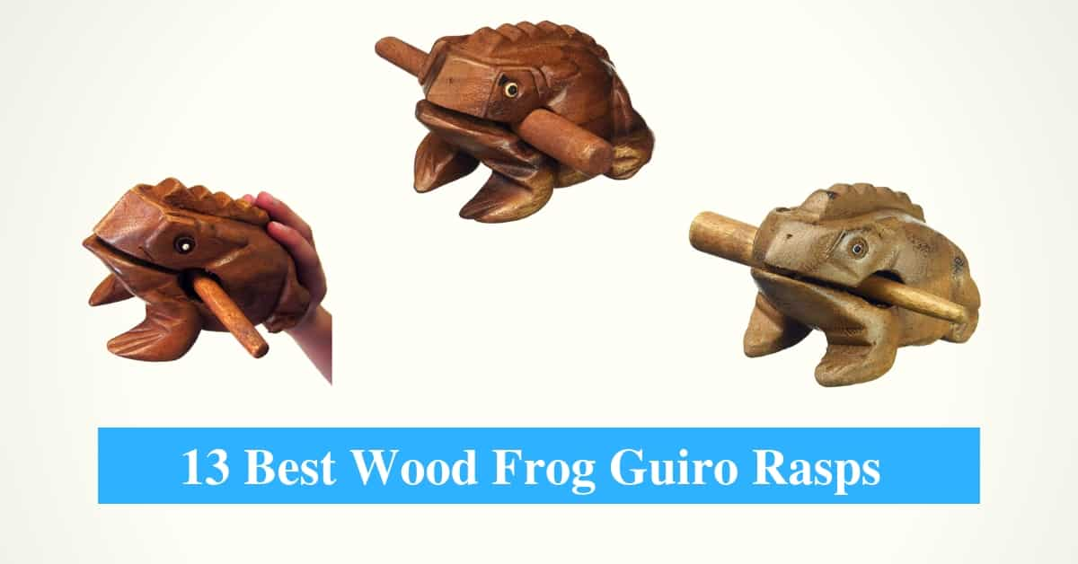 Best Wood Frog Guiro Rasps