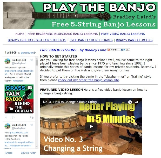 bradleylaird Banjo Lessons for Beginners