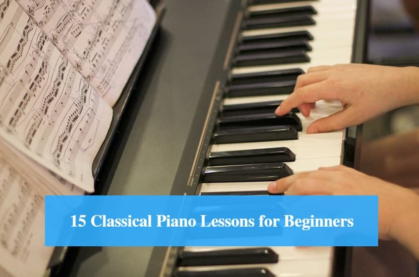 Classical Piano Lessons for Beginners