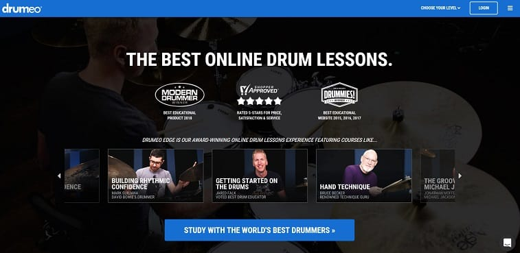 drumeo Drum Lessons for beginners