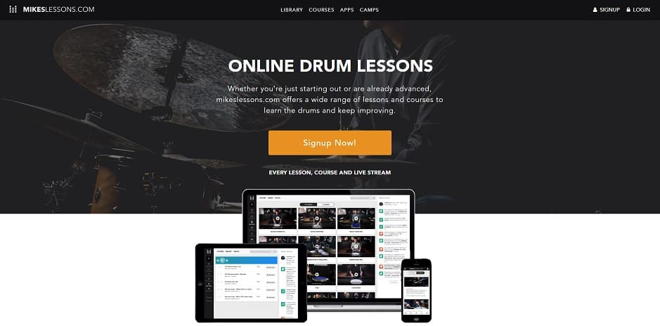 mikeslessons Drum Lessons for beginners