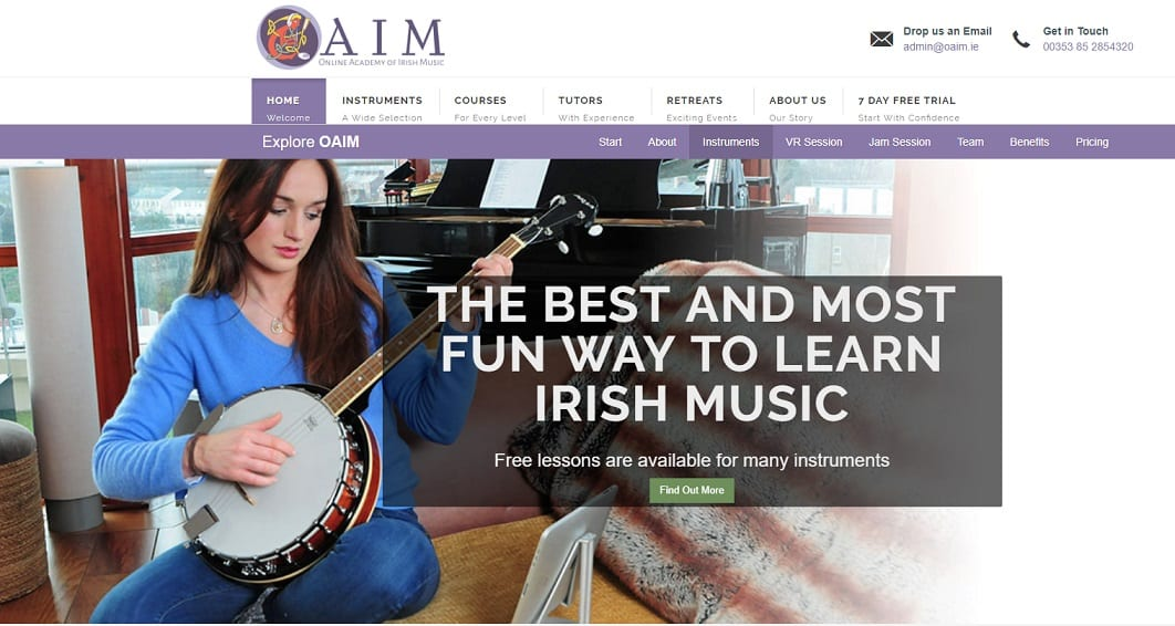 oaim Banjo Lessons for Beginners