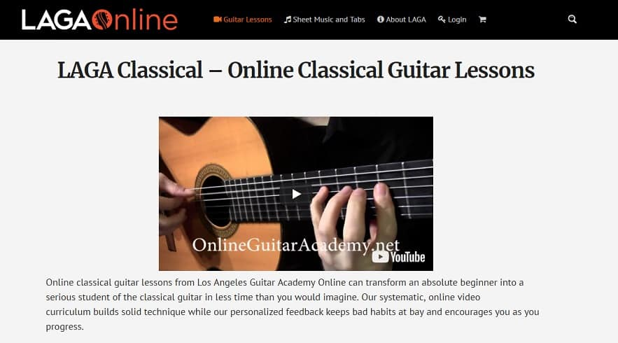 onlineguitaracademy Classical Guitar Lessons for Beginners
