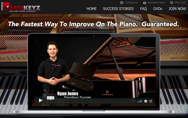 pianokeyz Classical Piano Lessons for Beginners