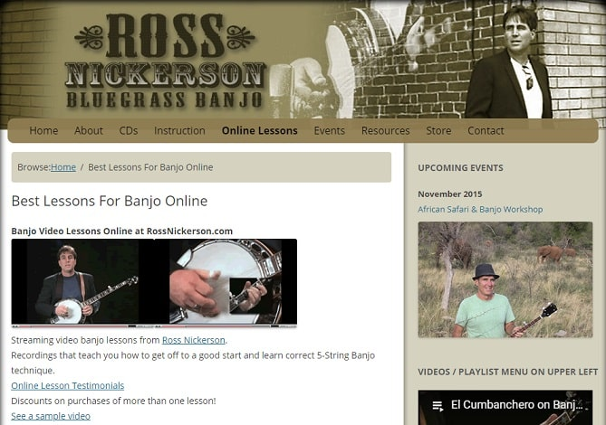 rossnickerson Banjo Lessons for Beginners