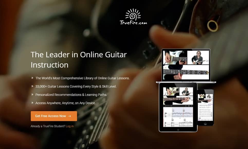 truefire Classical Guitar Lessons for Beginners