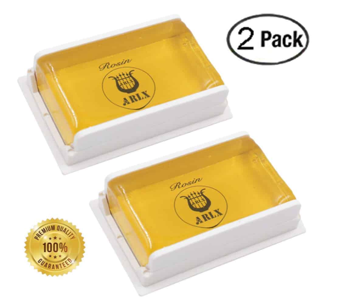 Sound harbor 2 Pack Rosin for Violin Viola and Cello Rosin for Bows