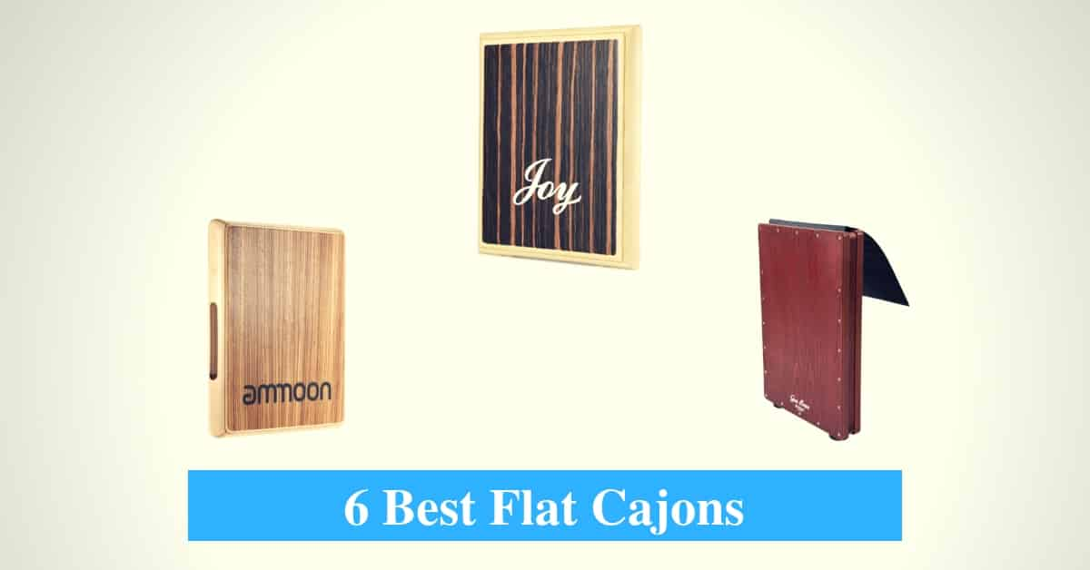 Best Flat Cajon & Best Flat Hand Drum Cajon Brands