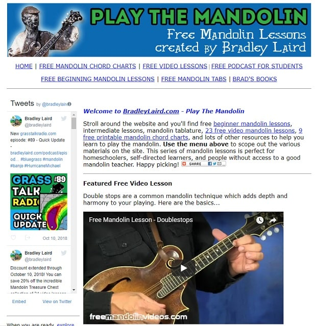 bradleylaird Mandolin Lessons for Beginners
