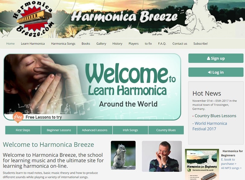 harmonicabreeze Harmonica Lessons for Beginners