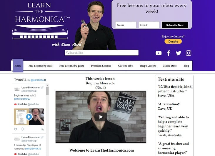 learntheharmonica Harmonica Lessons for Beginners