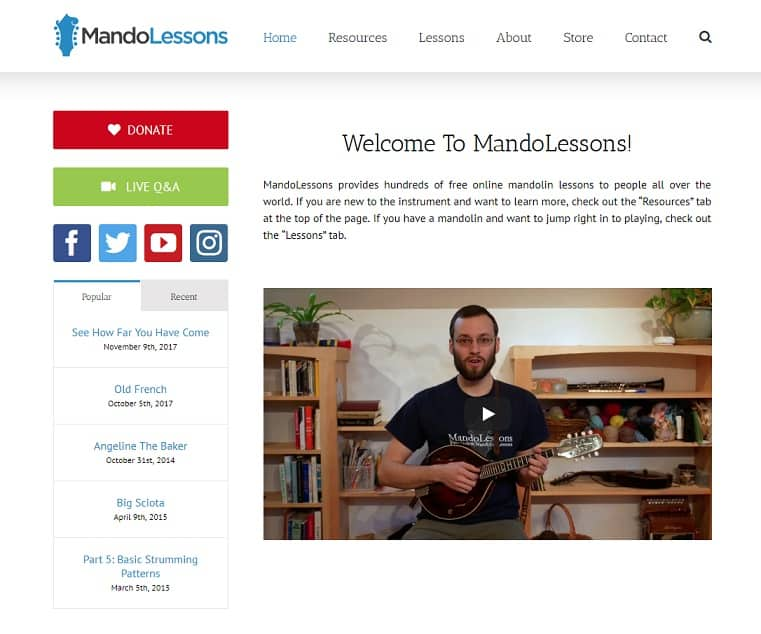 mandolessons Mandolin Lessons for Beginners