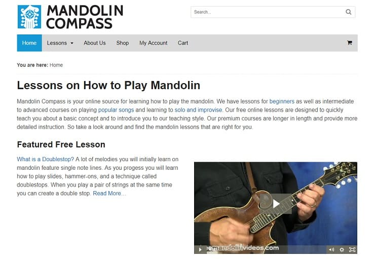 mandolincompass Mandolin Lessons for Beginners