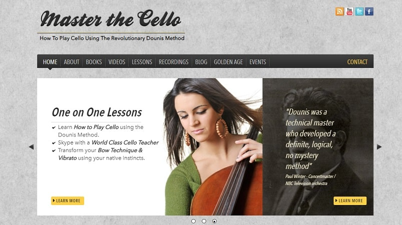masterthecello Cello Lessons for Beginners