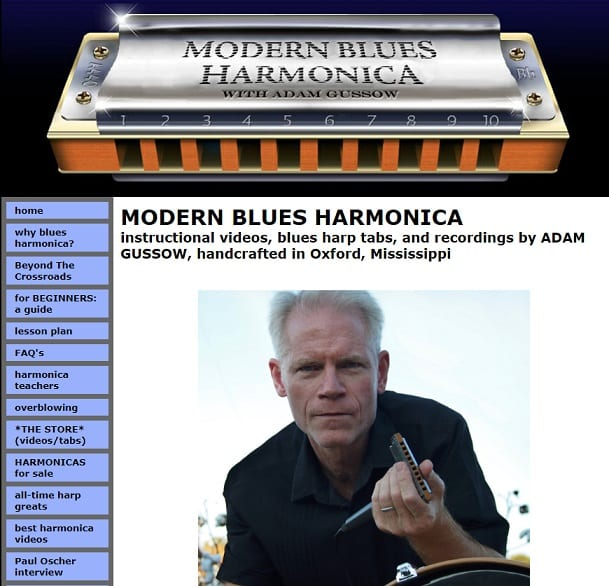 modernbluesharmonica Harmonica Lessons for Beginners