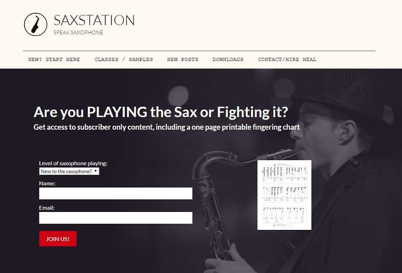 saxstation Saxophone Lessons for Beginners