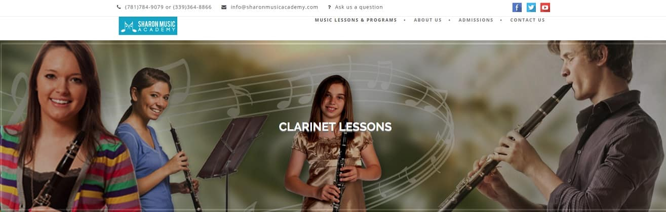sharonmusicacademy Clarinet Lessons for Beginners
