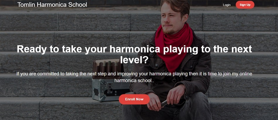 tomlinharmonicaschool Harmonica Lessons for Beginners