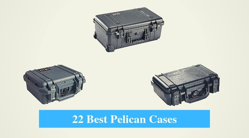 Pelican Micro Case Solid Black 1040 New 7.5 x 5 x  2.1 Fishing