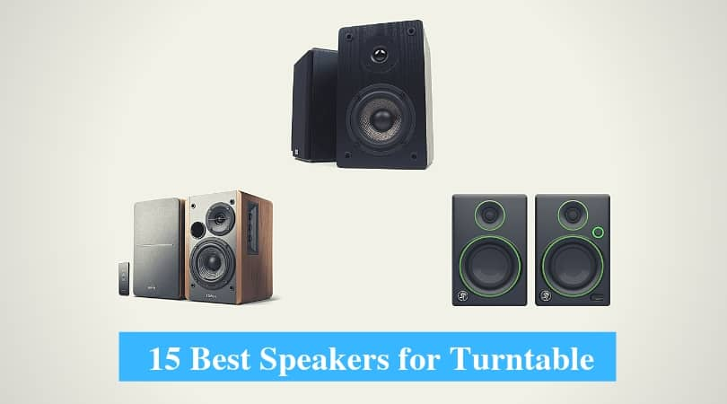 Best Turntable Speakers & Best Speakers for Vinyl