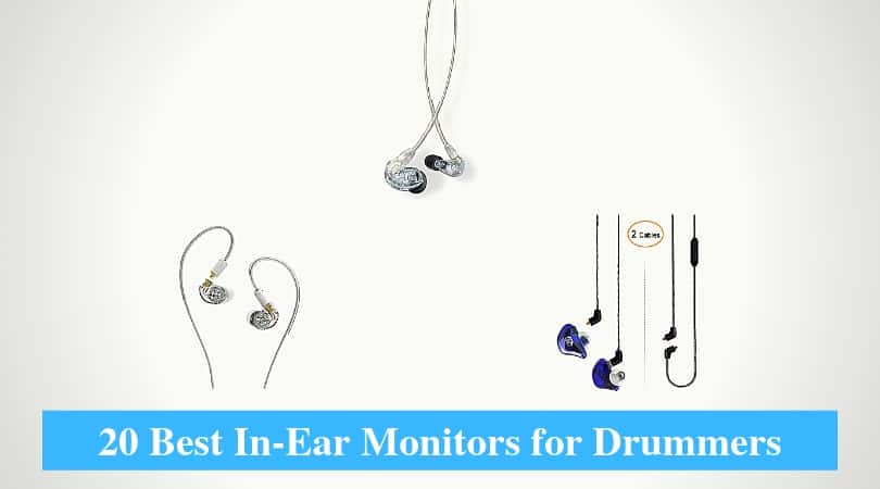 Best In-Ear Monitors for Drummers & Best In-Ear Monitor System