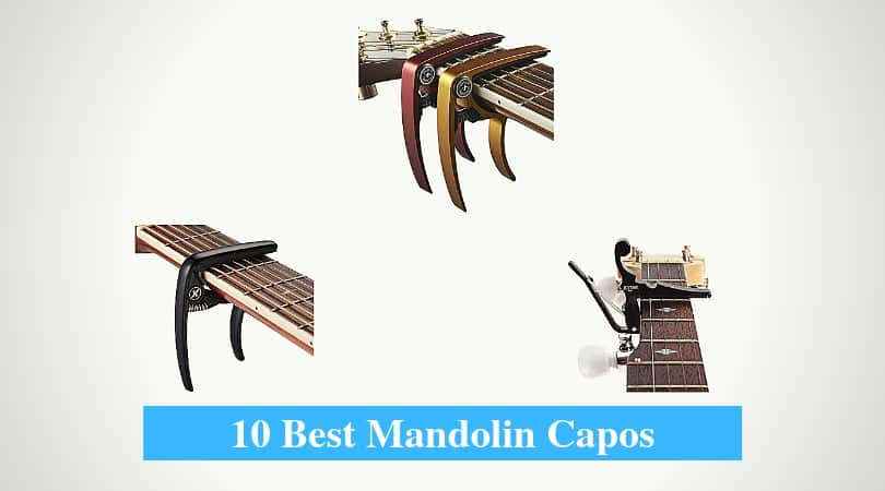 Best Mandolin Capos & Best Capo Brands for Mandolin