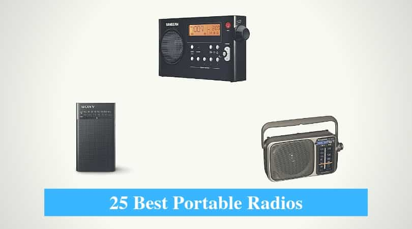 25 Best Portable Radio Reviews 2019 (Pocket AM/FM Radios