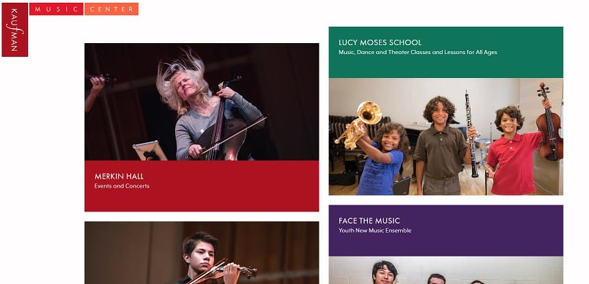 Kaufman Music Center Violin Lessons New York