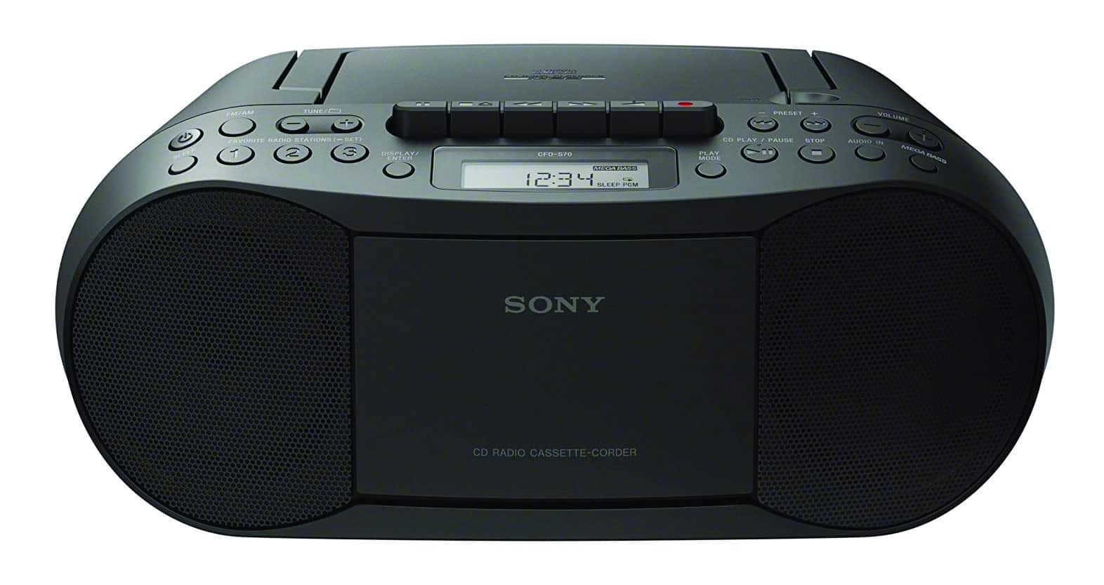 Sony Cassette Boombox Home Audio