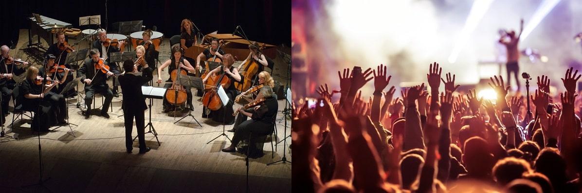 Classical vs Popular Music