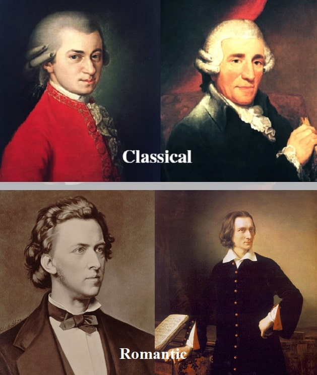 Classical vs Romantic Era Music