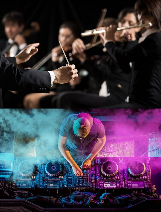 Classical vs Electronic Music