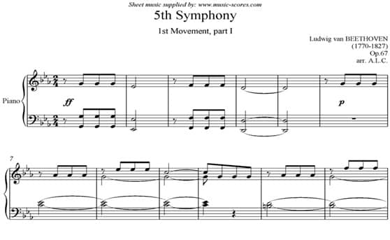5th Symphony by Beethoven