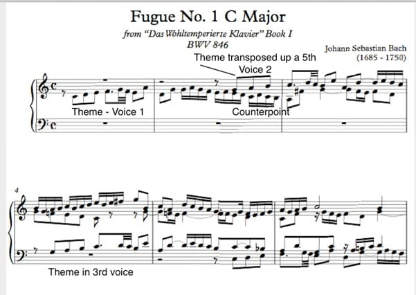 Fugue No.1 C Major