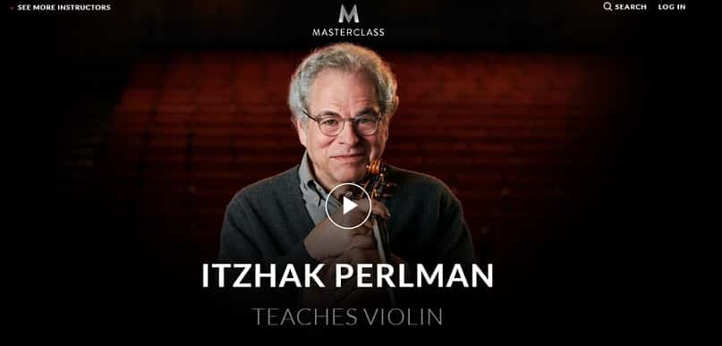 Itzhak Perlman Violin Lessons for Beginners