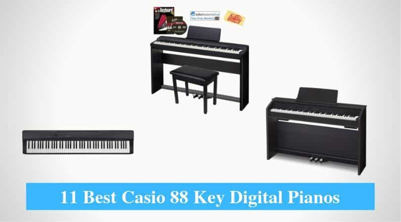 Best Casio 88 Key Digital Pianos