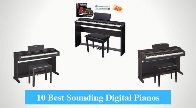 Best Sounding Digital Pianos